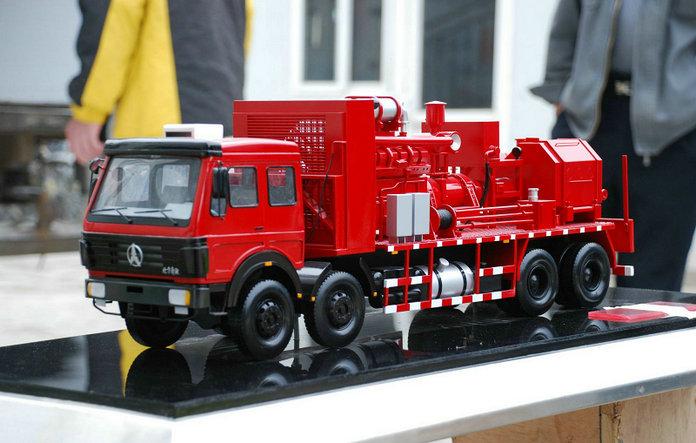 铁力服务好的石油机械压裂装置模型海蛇波浪能发电机模型好质量