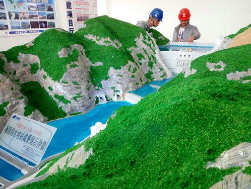 阿城有名气的SHL锅炉演示模型