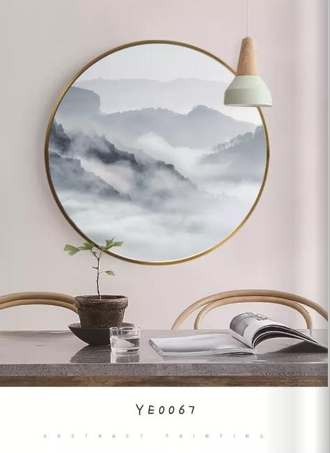 郑州客厅室内装饰画框画 manbetx登陆直销 边框尺寸定制