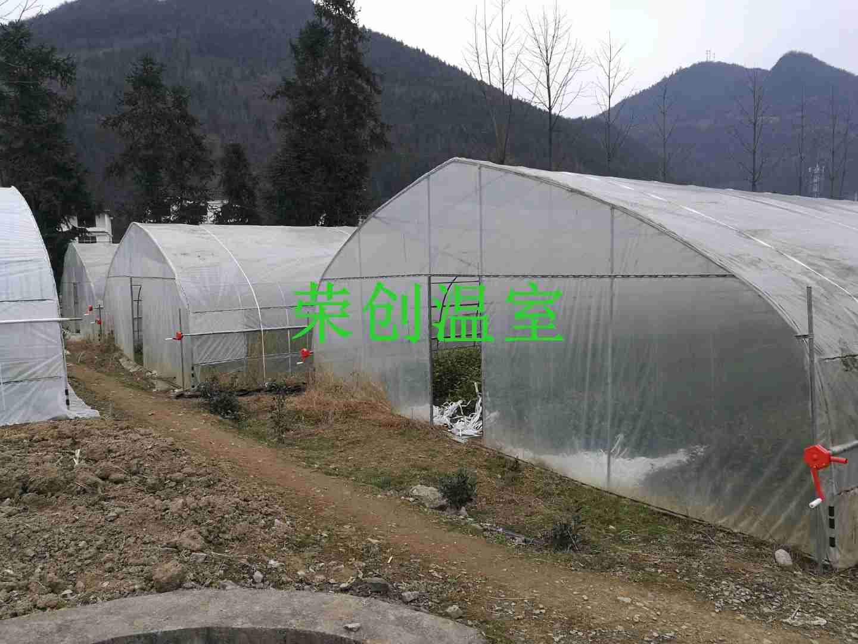 贵阳温室大棚骨架 温室大棚设计 玻璃温室结构形式