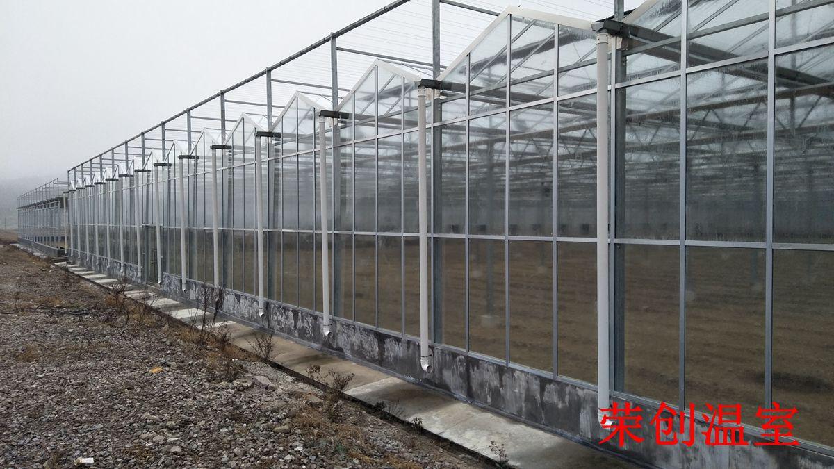河南玻璃温室建造 阳光板温室 连栋玻璃-PC板温室特点