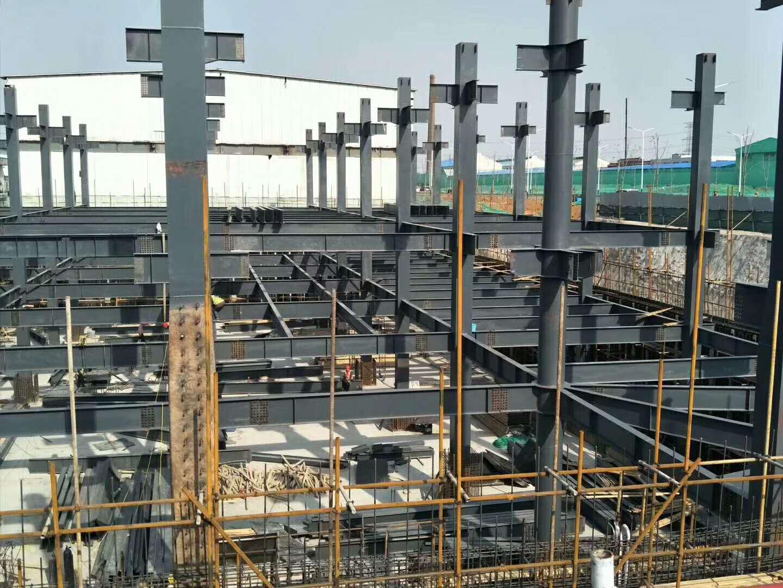 箱型柱加工厂_钢结构箱型柱生产厂家