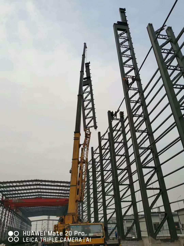 钢结构厂房施工_钢结构安装施工