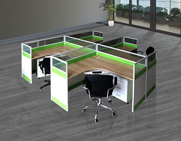 屏風式辦公桌產品哈中信廠家直售