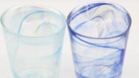 浅蓝云彩 800-1000度玻璃云彩粉