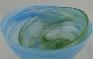 绿色云彩 800-1000度玻璃云彩粉