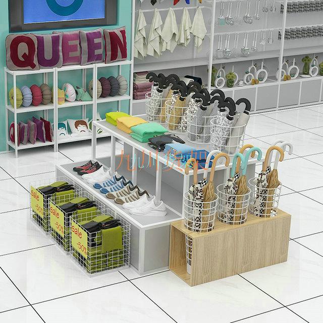 一款�轱�品店量身定制的伶俐�架