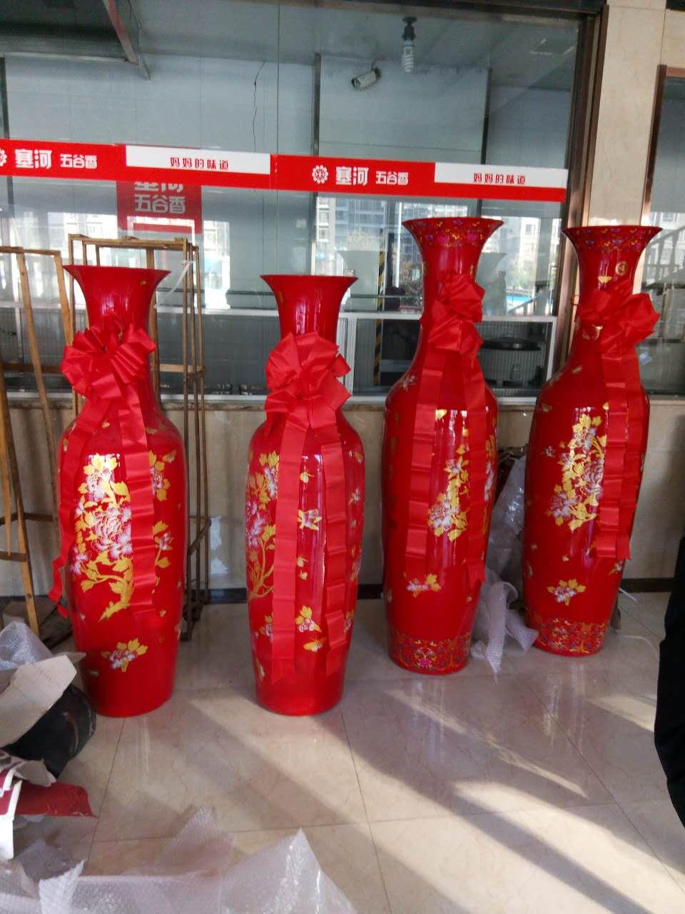 陶瓷大花瓶 西安�_�I大花瓶 落地青花瓷花瓶�N售 西安大花瓶