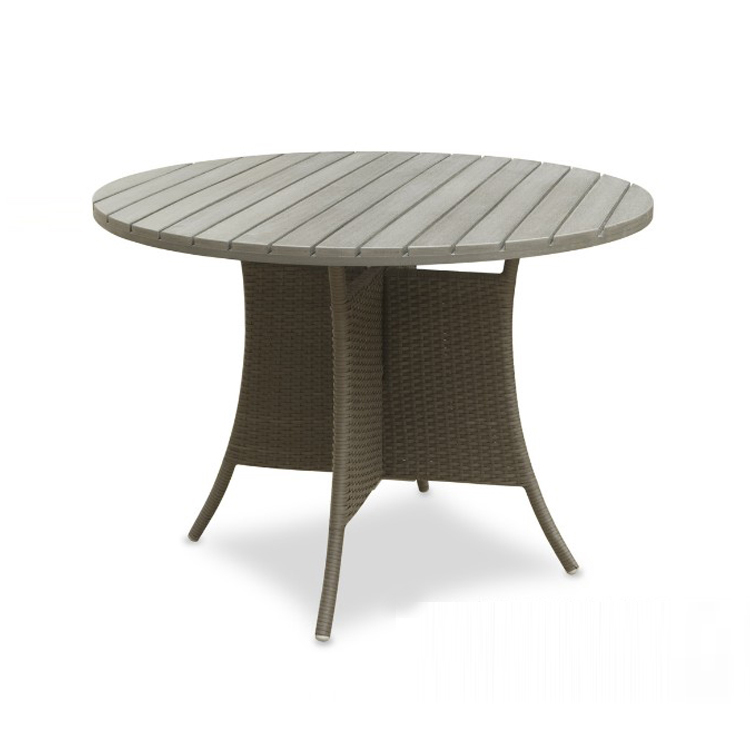 户外餐桌椅供应商,塑木餐桌定做,餐厅室外餐桌款式