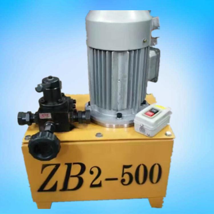 山东青岛厂家高压电动油泵zb6-600h电动油泵
