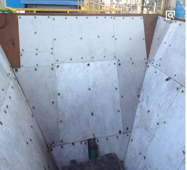 内蒙古安装修复耐磨高分子煤仓衬板厂家现货低价品质保证