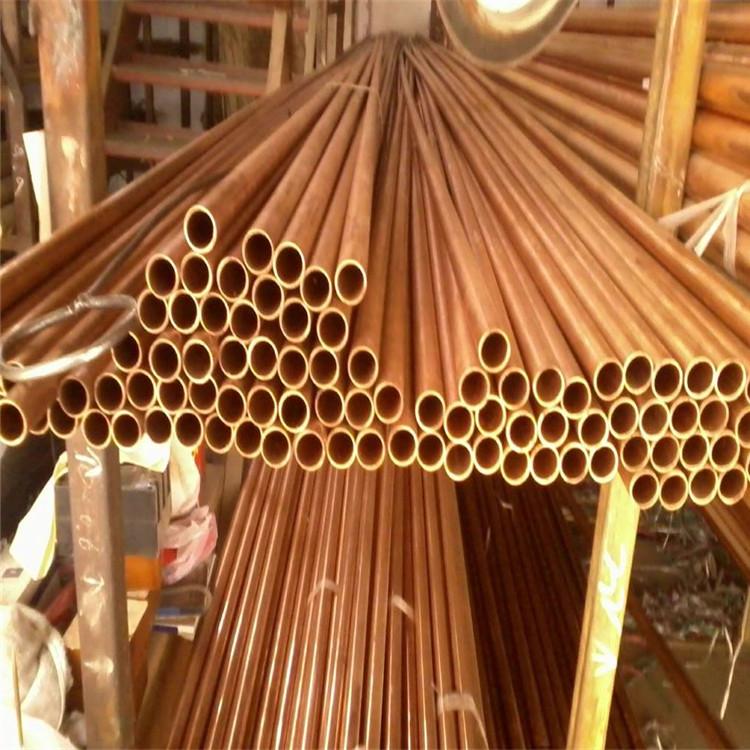 宿州黃銅管h62H59裝飾銅管紫銅管T2大銅管現貨價格