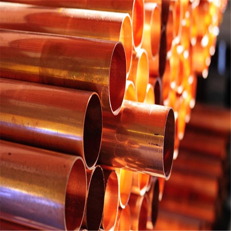 肇慶黃銅管h62H59裝飾銅管紫銅管T2大銅管現貨價格
