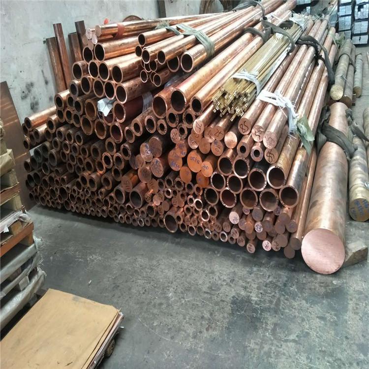 上海厚壁黄铜管H59大口径紫铜管T2锡青铜管