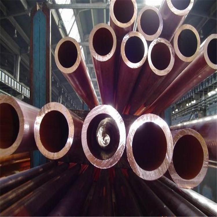 廣元黃銅管h62H59裝飾銅管紫銅管T2大銅管現貨價格