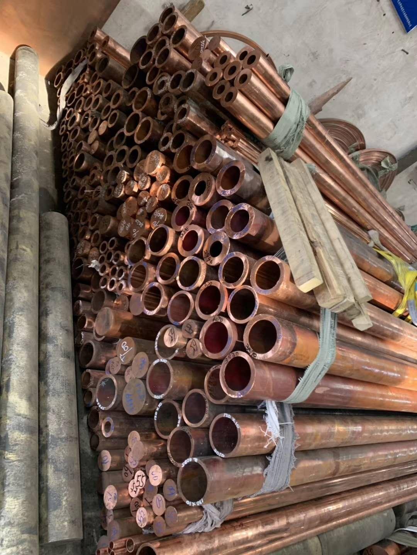 淮南黃銅管h62H59裝飾銅管紫銅管T2大銅管現貨價格