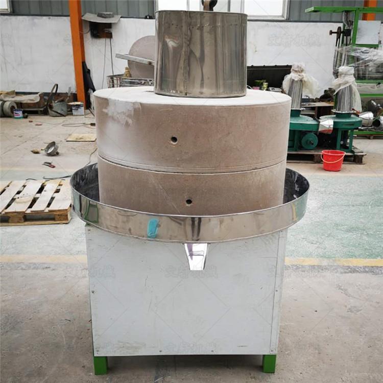 磨盘式蕲艾加工机械贵阳家用小型电动石磨机
