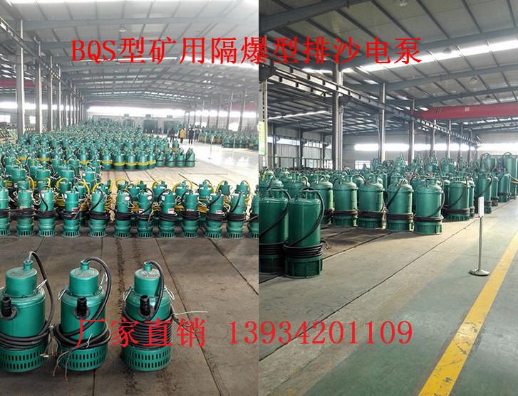 除夜理喜江bqw50-80-25s64kw排沙泵