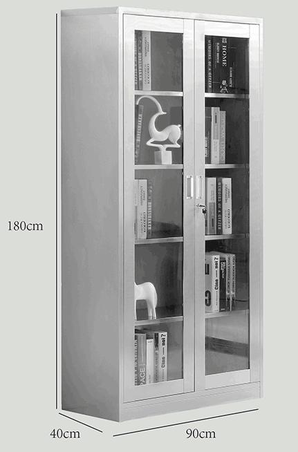 保定直銷304不銹鋼柜 不銹鋼更衣儲物文件柜廠家銷售
