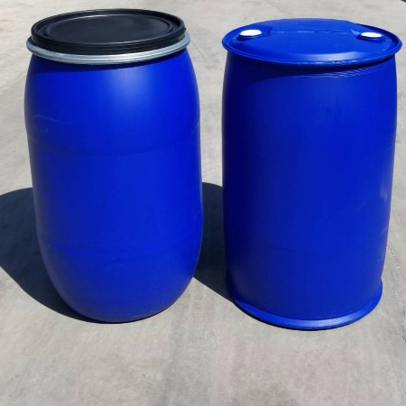 200L雙環塑料桶200升塑料桶藍色化工桶供應