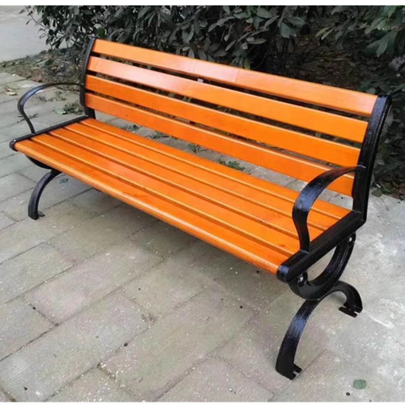 户外休闲椅露天凉椅靠背铸铝椅现货供应