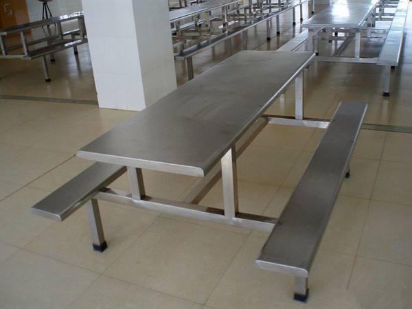 长春朝阳区不锈钢餐桌餐椅定制生产厂家直售
