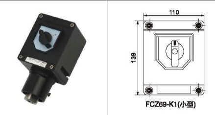 防爆操作柱防爆按钮电箱防爆电源控制箱防水防尘控制箱按钮盒