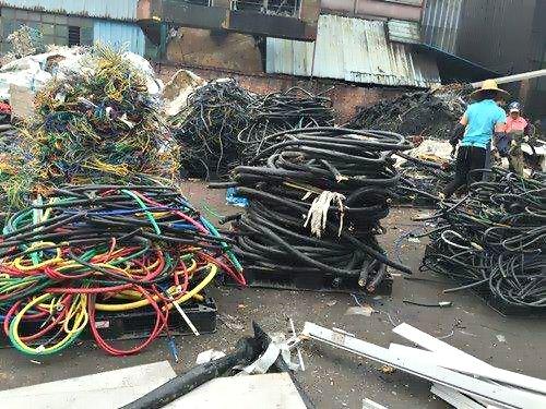 厦门岛内废旧物质回收-集美电缆线回收报价