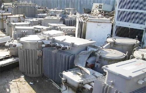 江苏扬州电厂变压器组合变压器回收利用