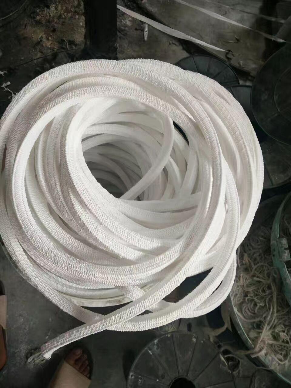 应城耐磨芳纶盘根-四氟盘根环