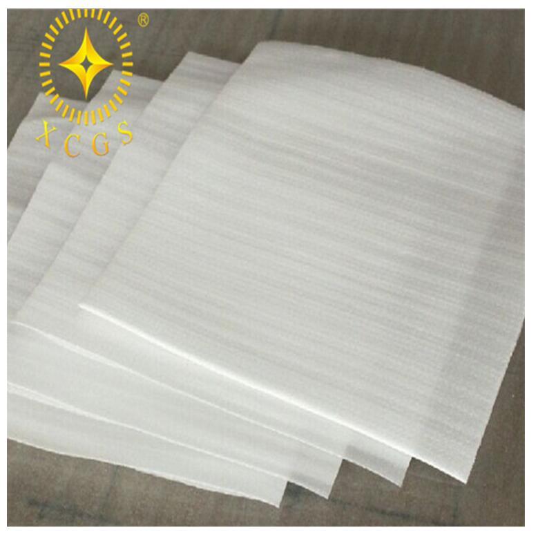 新皆厂家供给珍珠棉覆膜袋 液晶隐现屏包拆袋