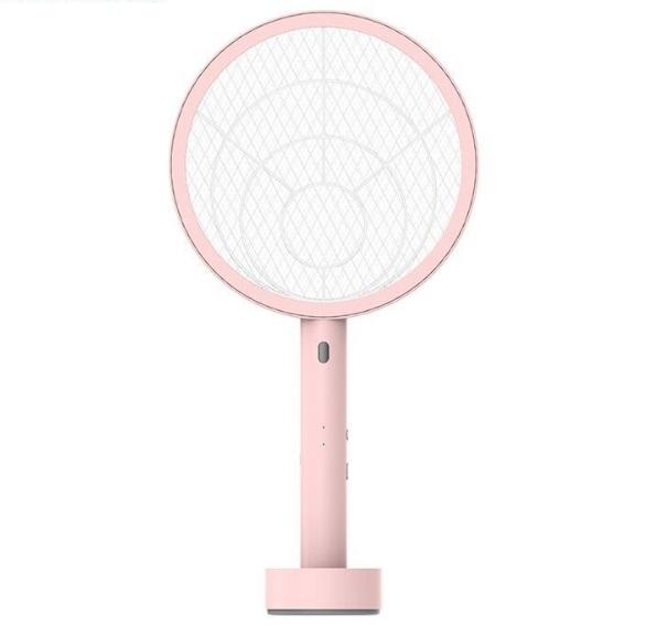 LED充电式电蚊拍可换18650锂电池强力灭蚊拍蚊子苍蝇拍