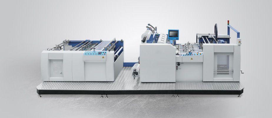 全自动双面覆膜机-覆膜设备供应-鑫恒包装