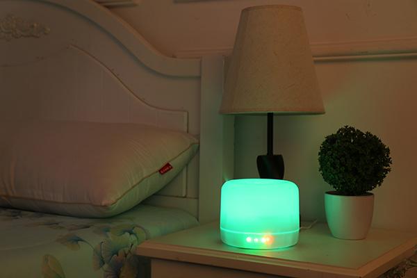 生产便携迷你加湿器厂家 多功能触摸夜灯