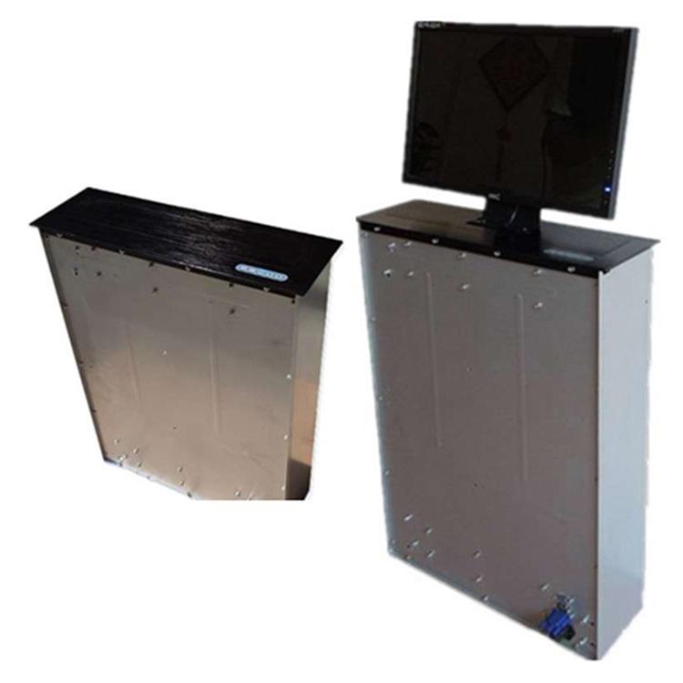 托克拉克显示屏升降器会议桌面升降器防夹手升降器