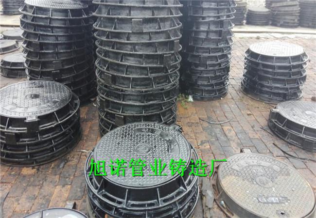 轮台防沉降球墨井盖DN600球墨铸铁井盖生产商