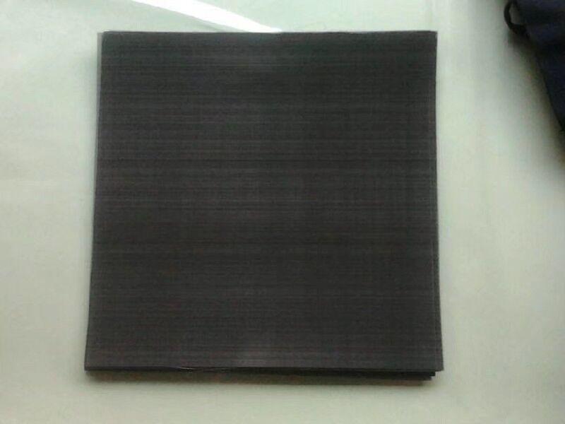 黑丝布,过滤片.单层片