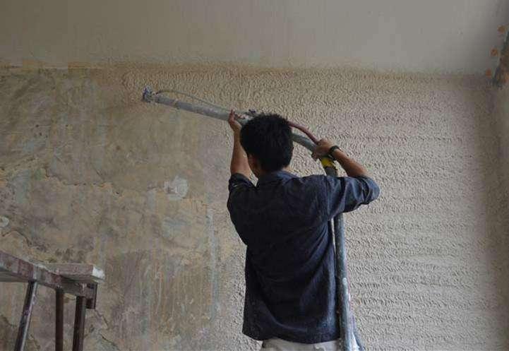 内墙石膏粉刷