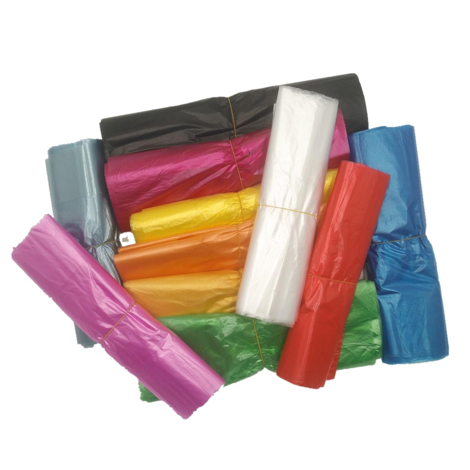 山东厂家超市手提袋 马甲背心塑料胶袋 定做透明食品购物方便袋