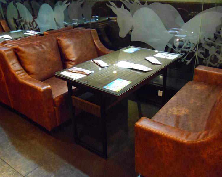 厦门欣百恒主题西餐厅餐桌餐椅卡座沙发全店整装定制