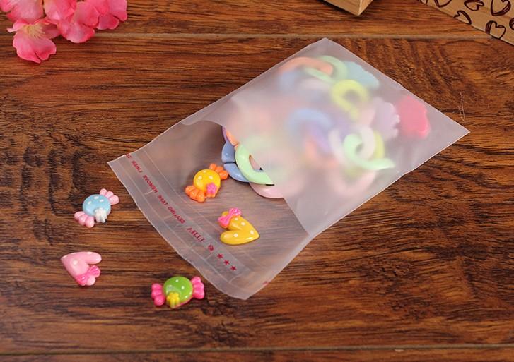 批发PO自粘袋透明磨砂袋子 衣服塑料袋封口袋加厚服装包装袋
