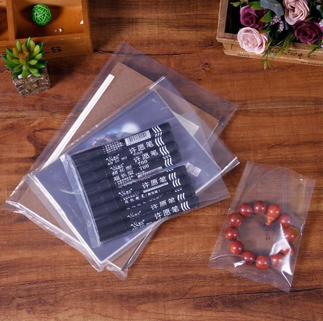 PE韧性平口袋透明加厚食品干果包装袋胶袋开口袋批发