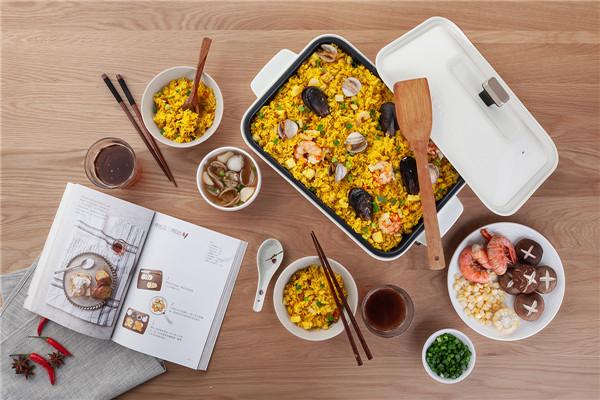 小智美食汤料理锅 电烧烤烤肉烤锅