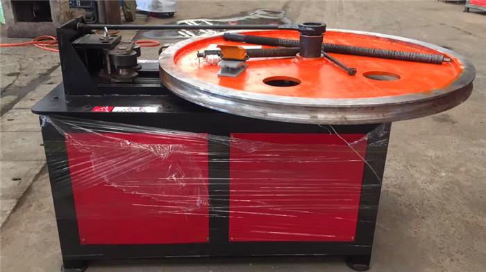 济宁小型平台数控钢管弯管机液压钢管弯圆机一次成型