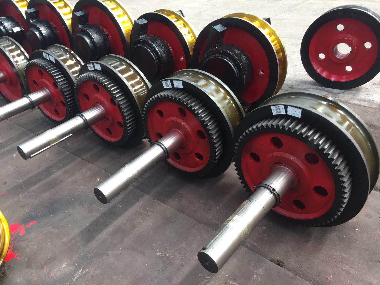 起重机锻造车轮组  淬火天车轮