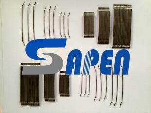 Sapen工业地坪抗裂增强端钩型粘排钢纤维