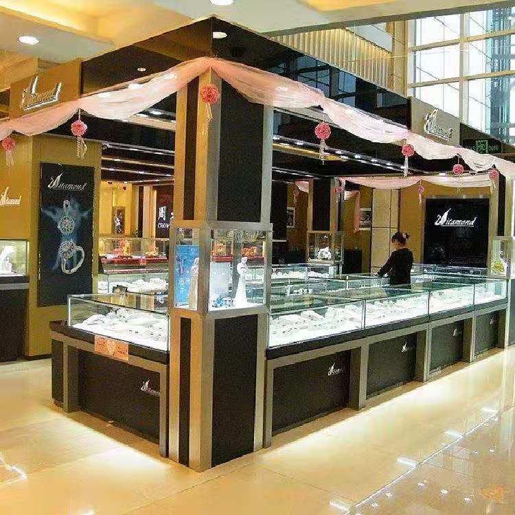 厦门黄金珠宝展示柜工厂定做流程