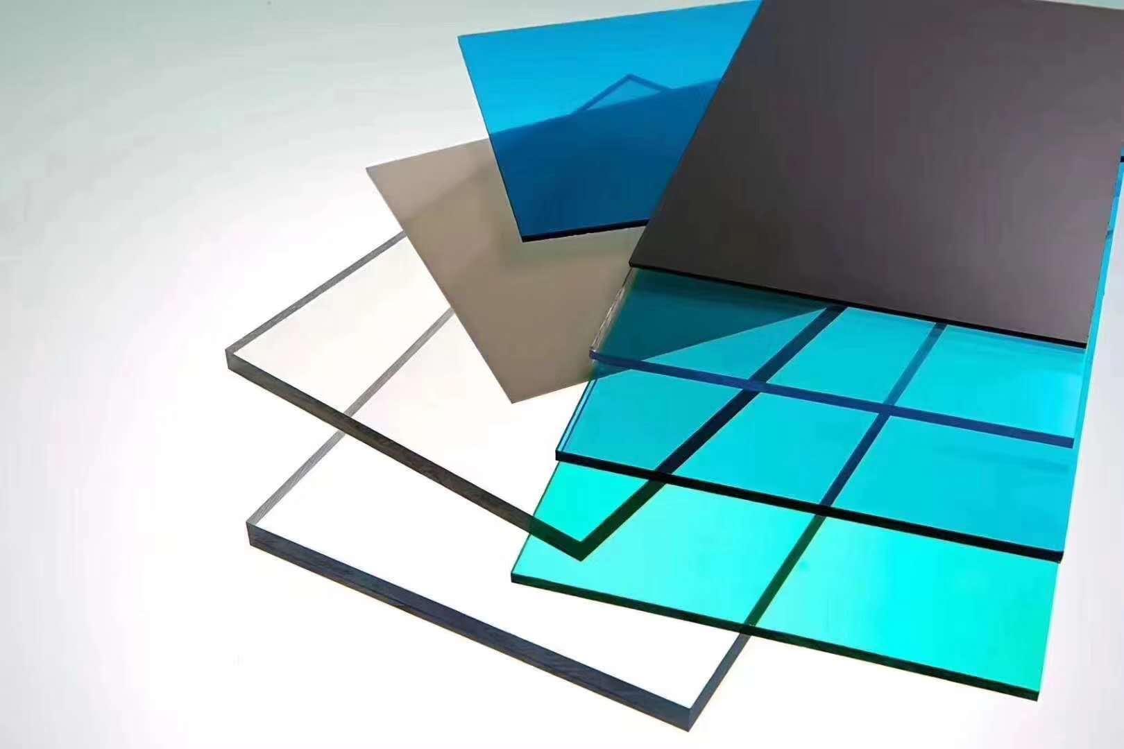 山东济宁市厂家批发pc耐力板阳光板PETG塑料透明板1mm到20mm