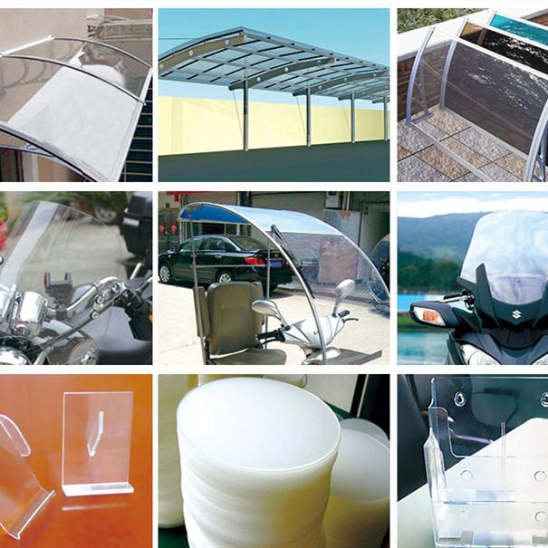 广东梅州市pc耐力板pc阳光板PETG板亚克力板厂家直销