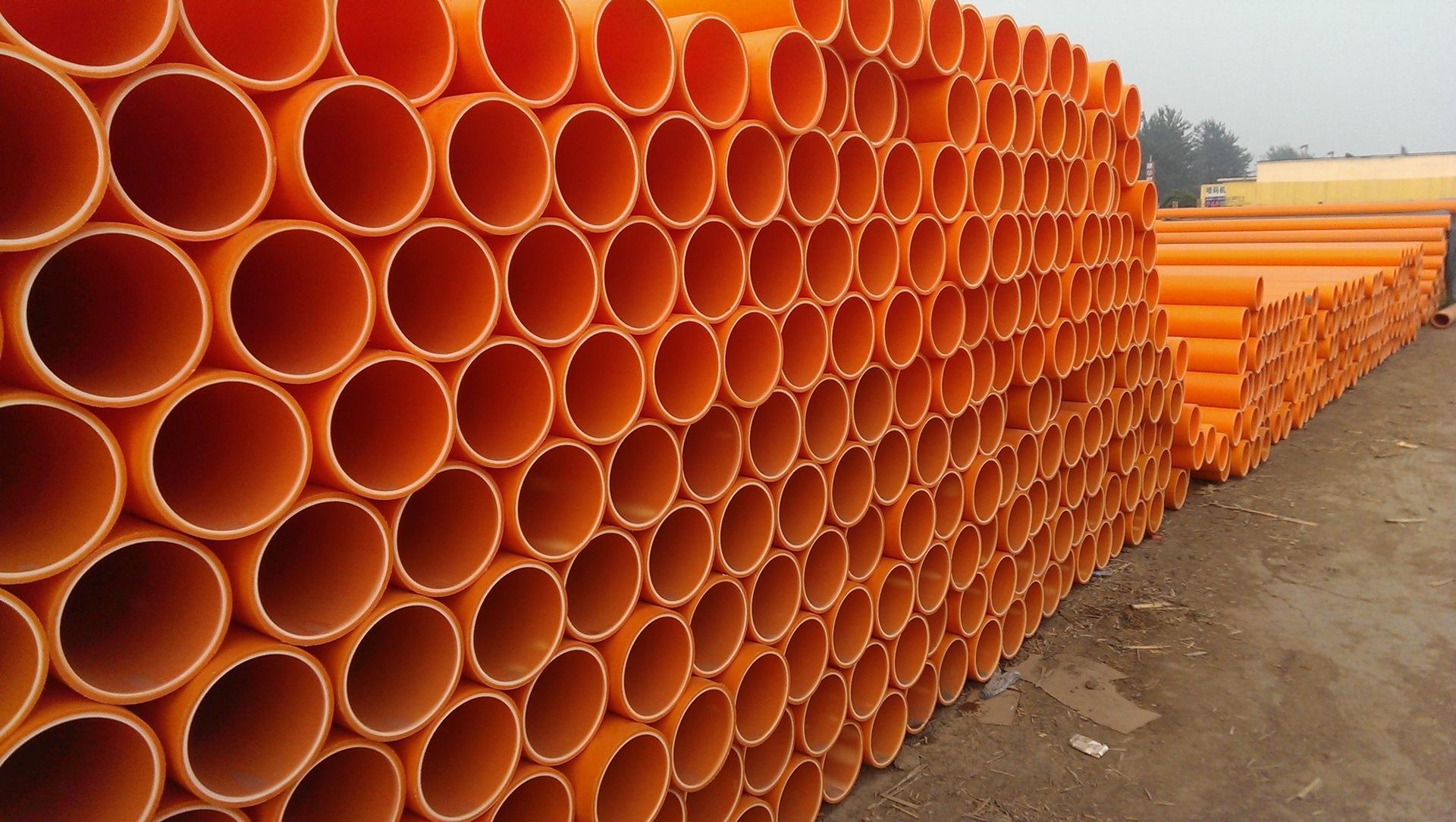 山西厂家现货供应市政工程改造穿线管160型CPVC电力管新原料